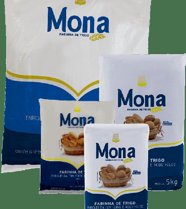 Farinha de Trigo Doméstica Mona Inteira