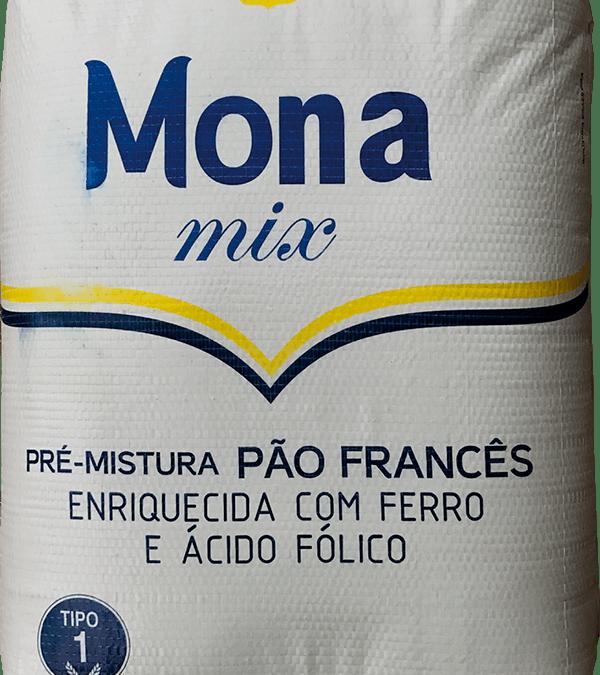 Farinha de Trigo Profissional Mona Mix Pré-Mistura Pão Francês